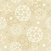 Fundo transparente moléculas