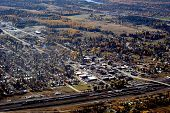 resort town of Whitefish in Western USA