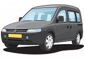 Minivan - My own car design.