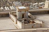 Second Temple.  Ancient Jerusalem.