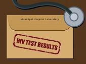 HIV test results
