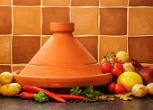 Plain Maroccan Tagine