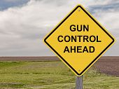 Caution - Gun Control Ahead