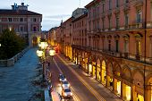 Via Dell Indipendenza In Bologna, Italy