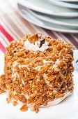 cashew toffee nut cake
