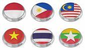 Nation Flag Icon Set
