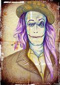 spooky face