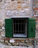 Window In The Town Of Grado