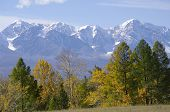 Very Beautiful Autumn Altay Mountains