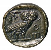 ancient greek coin - tetradrachm