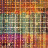 Grunge vintage background. EPS10 vector
