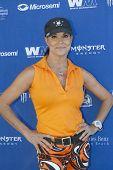 MOOREPARK, CA - SEPT 16:  Paula Trickey arrives at the 6th Annual Scott Medlock & Robby Krieger Golf Invitational & All-Star Concert on September 16, 2013 in Moorepark CA.