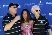 MOOREPARK, CA - SEPT 16: Scott Medlock, Myrna Medlock, Robby Krieger arrives at the 6th Annual Scott