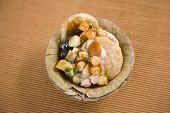 Dahi Bhalle Chaat Or Stuffed Panipuri With Curd, Indian Food