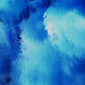 art abstract background in blue color