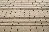 picture of stippling  - Wall made of yellow bricks - JPG