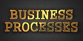 Business Processes Concept.