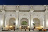 pic of amtrak  - Union Station at night - JPG