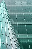 Modern Building Abstract Background poster