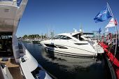 NORWALK, CT - SEPTEMBER 19: Boat show 2013 September 19, 2013 in Norwalk, CT.