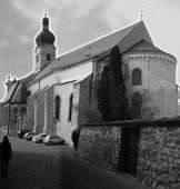 Church In Gray-scale
