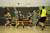 SIOFOK, HUNGARY - SEPTEMBER 14: Unidentified players in action at a Hungarian National Championship