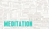 Meditation for Balance and Inner Peace as Art