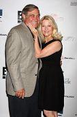 LOS ANGELES - SEP 19:  Dan Lauria, Barbara Niven at the Heller Awards 2013 at Beverly Hilton Hotel o
