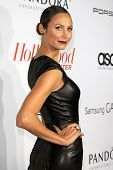 LOS ANGELES - SEP 19:  Stacy Keibler at the The Hollywood Reporter's Emmy Party at Soho House on Sep