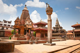 picture of shankar  - Narsingha Temple at Durbar Sqaure in Patan - JPG