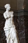 Venus de Milo, in Louvre, Paris