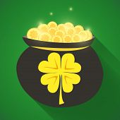 St Patrick Day Gold Money Icon