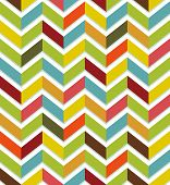 Colorful chevron seamless