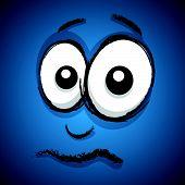 concerned cartoon face