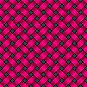 Seamless Texture In Pink With 3D Effect
