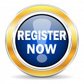 register now icon