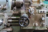 Old lathe machine