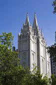 Templo de Salt Lake lado oeste