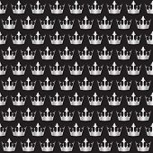 silver crowns pattern