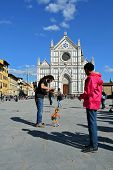 Florence in Italy, Santa Croce