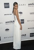 NEW YORK-FEB 5: Model Chanel Iman attends the 2014 amfAR New York Gala at Cipriani Wall Street on Fe