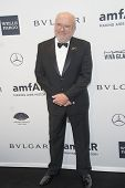 NEW YORK-FEB 5: Photographer Peter Lindbergh attends the 2014 amfAR New York Gala at Cipriani Wall S