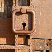 Medieval Fortress Door Detail poster