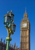 Big Ben and a Street Lamp
