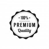 Retro  Premium Quality Label
