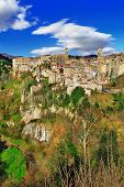 picturesque Italy series - Sorano, Tuscany
