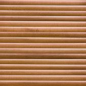 stock photo of blinders  - Abstract of wooden sun blinder - JPG