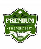 Premium The Very Best  label