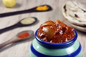 South Indian Lemon Pickle