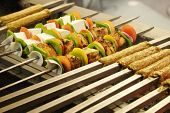 stock photo of kababs  - Kebab  - JPG